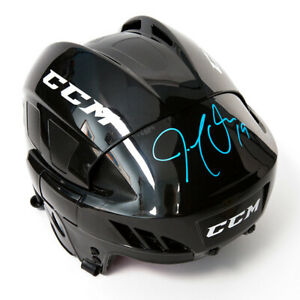 Joe Thornton San Jose Sharks Autographed CCM® Full Size Black Hockey Helmet