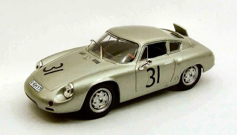 Porsche Abarth   31 7th 1000 Km Nurburgbague 1960 Greger   Linge 1 43 Model  vente au rabais