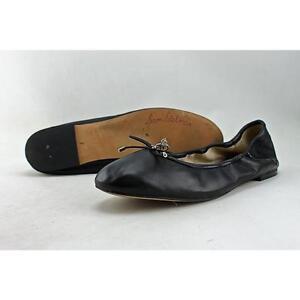 1b3b5926b20c8 Sam Edelman Felicia Ballet Flats 526 Black Leather 8 US   38 EU for ...
