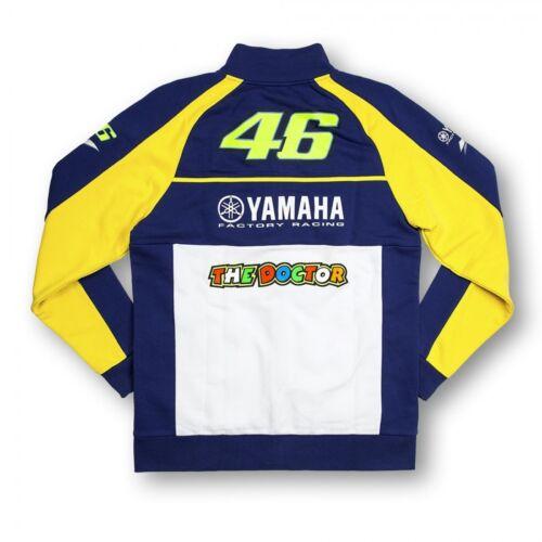 YDMFL 165509 Official Valentino Rossi VR46 Special Yamaha Sweatshirt//Fleece