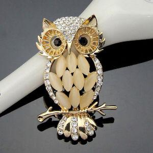 Fashion-Men-Women-Crystal-Big-Eye-Owl-Wedding-Party-Prom-Brooch-Pin-Jewelry-Gift