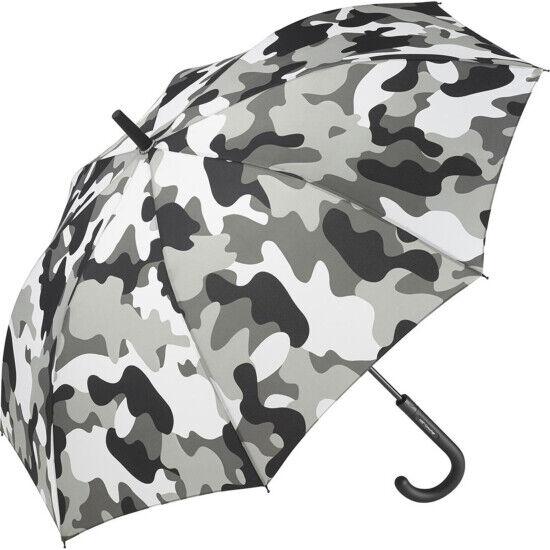 Performance Automatic Opening Walking Length Camouflage Umbrella - Winter