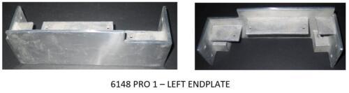 Sho-Bud Pedal Steel Guitar 6148 End Plate Set ShoBud Casting NOS G205-G206