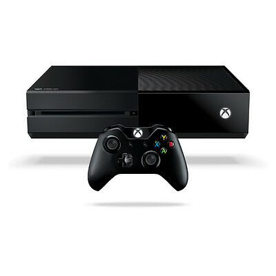 Microsoft Xbox One - 500 GB Black Console without Kinect Very Good Condition