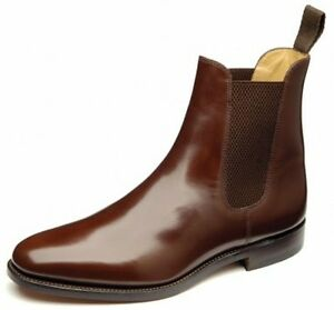 Mens Leather Slip On Boots - Boot Hto