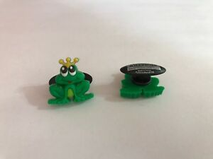 Frog-Prince-Shoe-Doodle-goes-in-holes-of-Rubber-Shoes-or-Crocs-Shoe-PSC1062