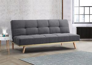 Bon Image Is Loading Birlea Snug Sofa Bed 3 Seater Settee Grey