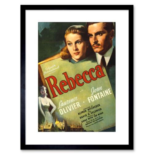 Ad Movie Film Rebecca Olivier Fontaine 30X40Cm Framed Art Print 9x7 Inch