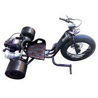 Fast 30mph Black Big 3 Wheel Gas Drift Trike Bike Go Kart Cart Racing Kart