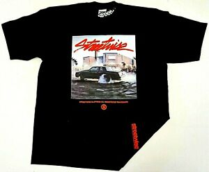 STREETWISE-BURNOUTS-T-shirt-Urban-Streetwear-Tee-Mens-L-4XL-Black-NWT