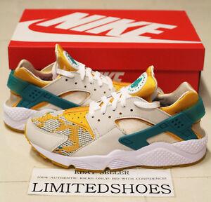 NIKE AIR HUARACHE RUN PA CANYON GOLD 705008-007 ostrich white gum triple bronze