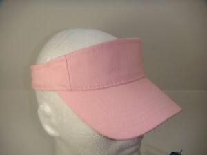 PINK GOLF TENNIS SPORTS VISOR VISORS CAP CAPS HAT 688295062660  3d9ffbcb118