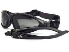 HARLEY DAVIDSON switchable SWITCHBACK sunglasses or goggles BLACK HDS805 BLK-3