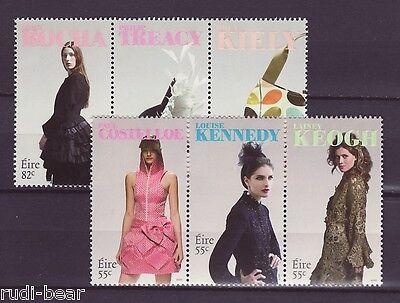 Briefmarken Irland MüHsam Irland Nr 1936-41 ** Zd Modedesign In Irland