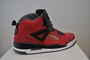 new style a251e 18251 Image is loading Nike-Air-Jordan-Spizike-Gym-Red-Black-Grey-