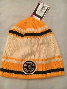 e3ebd882f Boston Bruins NEW Knitted Winter Hat . NHL Hockey Beanie Reebok Warm ...
