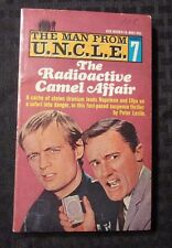 1966 THE MAN FROM UNCLE #7 PB Ace Books 1st Edition G-300 FN+ Radioactive Camel