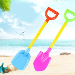 2-Teile-satz-Kinder-Kunststoff-Strand-Schaufel-Spielzeug-Sand-Spielen-Werkz-AB