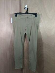 NWT-Isabel-Maternity-Womens-Size-6-Tan-Side-Panels-Skinny-Jeans