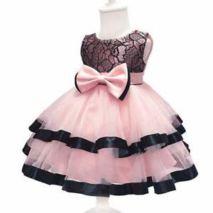 Baby-tutu-princess-dress-bridesmaid-formal-wedding-party-flower-dresses-kid-girl