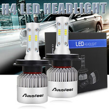 Pair 252W 25200LM H4 9003 HB2 LED Headlight Kit Bulbs High/Low Beam 6500K Bright