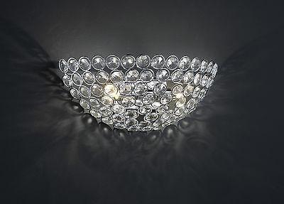 Wandleuchten Trio Kristall Wandlampe Brussels 2x28w G9 28cm Glas Lüster 214810206 Led Mög Neu Ausreichende Versorgung