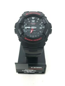 Casio-G-Shock-Analog-Digital-Quartz-200m-Black-Resin-Watch-G100-1BV
