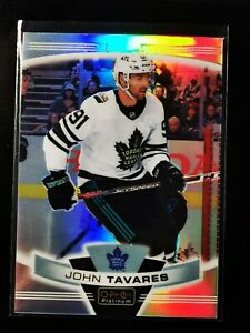*RARE* John Tavares - 2019-20 OPC Platinum All-Star Image Variations Rainbow #65