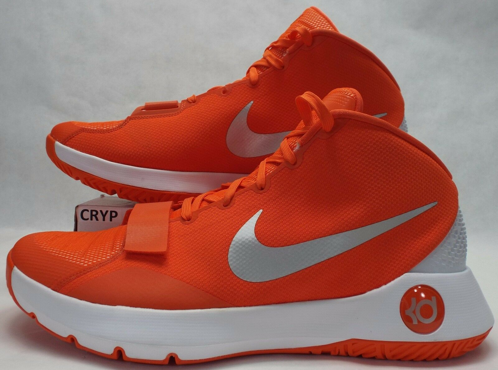New Mens 18 NIKE KD Trey 3 III orange White Basketball shoes  812950-802