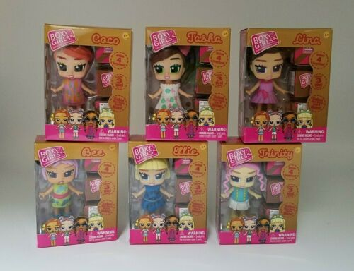 Boxy Girls Mini Dolls Lot of ALL 6 w//4 Surprises Each ~ COMPLETE SET New