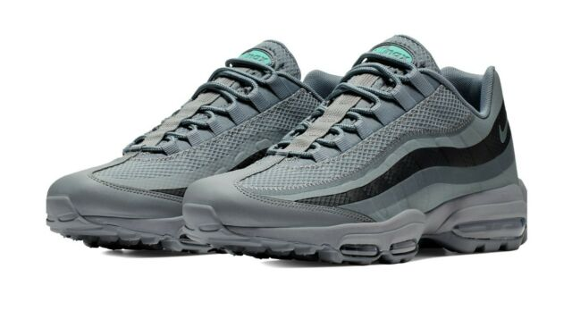 NIKE AIR MAX 95 ULTRA MEN'S SHOES [SIZE 10.5] COOL GREYBLACK CI2298 002
