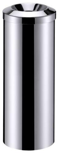 trou 10 cm Ø 68,0 cm hauteur selbstlöschend 25,0 cm Ø Corbeille en acier inoxydable