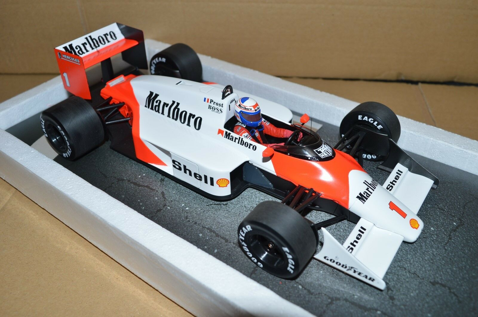 1987 McLaren Alain Prost MP4 3 1 18 - TOBACCO BRANDED