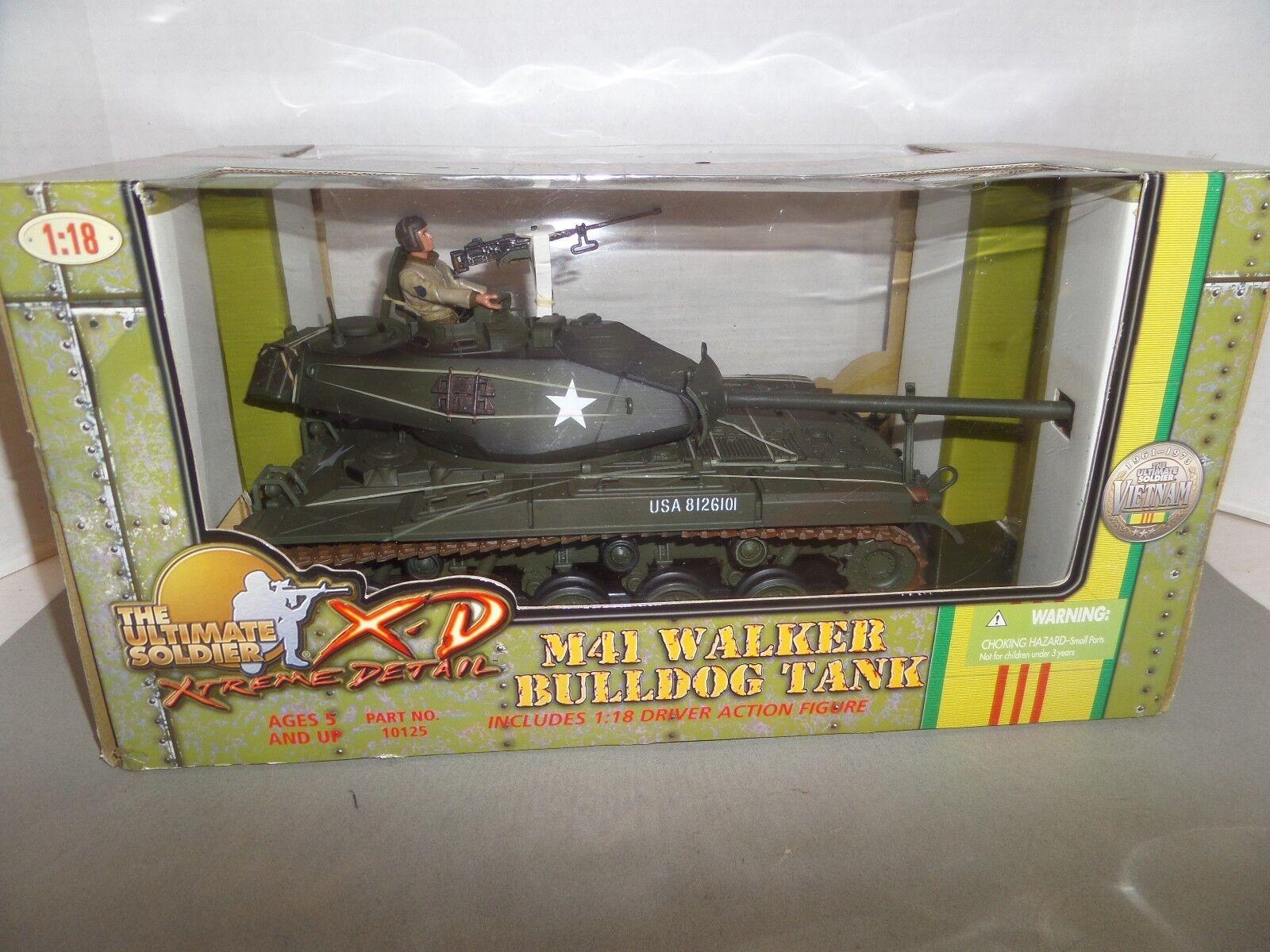 ULTIMATE SOLDIER M41 WALKER BULLDOG TANK 1 1 1 18 SCALE 61e891