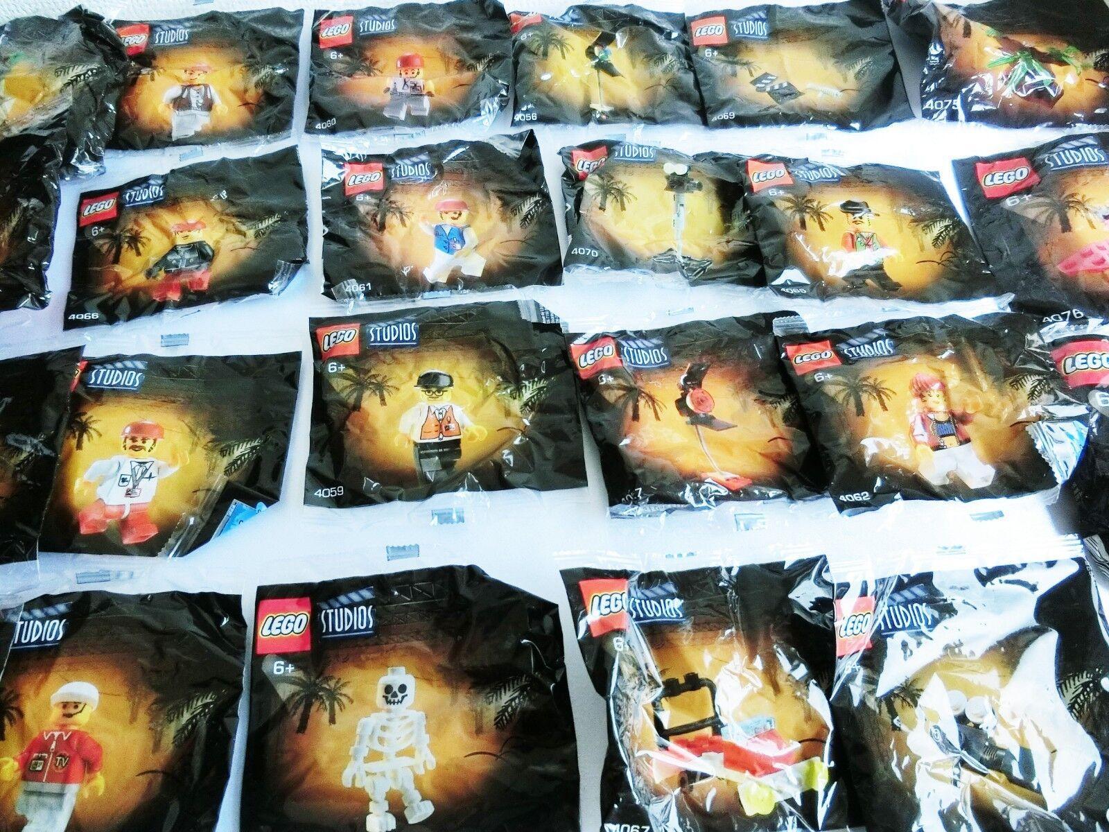 LEGO STUDIOS Coca Cola Original Item All 24 species Complete set 4073 4063 Japan