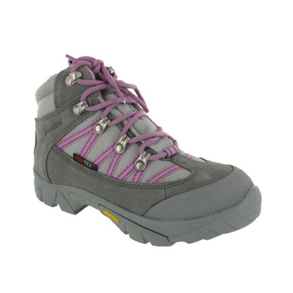 Johnscliffe Leather Hiking Waterproof Boots Womens Girls shoes UK2-7
