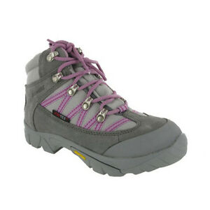Johnscliffe-Leather-Hiking-Waterproof-Boots-Womens-Girls-Shoes-UK2-7