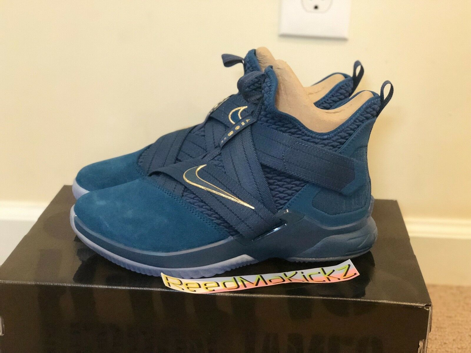 Nike Lebron Soldier XII SFG Agimat Philippines Pour des hommes Tailles AO4054 400
