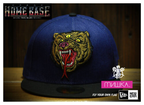 Limited Edition New Era 59FIFTY Fitted Mishka Beast From The East Denim