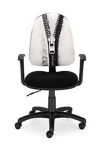 Silla-de-oficina-silla-para-escritorio-o-estudio-color-Blanco-y-Negro-Energy