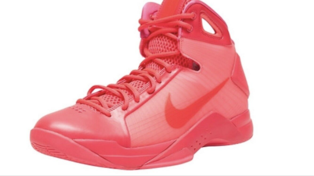 Nike Hyperdunk 08 Deadstock Pink 820321-600 Basketball shoes High Top Lace up