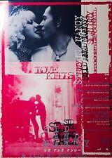 Sid and Nancy 1986 Punk Sex Pistol Japanese Mini Movie Poster Chirashi Japan B5