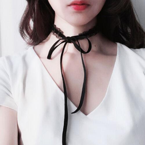 Spitze Samt Gothic Victorian Vintage Halsband Halskette Choker