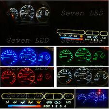 92-95 Gauge Cluster + Climate control LED KIT for Honda Civic EG