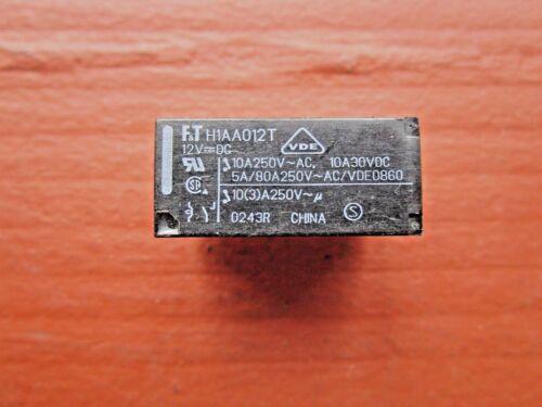Fujitsu FTR-H1AA012T Relay 12VDC 10A