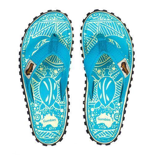 778b13894d8 Gumbies Islander Ladies Flip Flops UK 6.5 EU 40 Turquoise