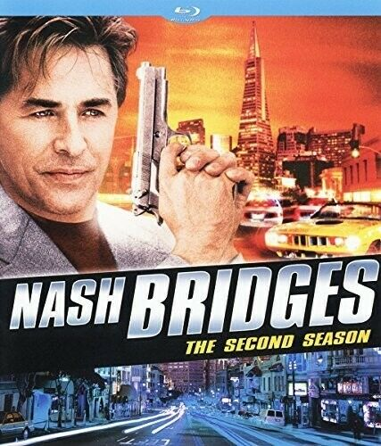 Nash Bridges: The Second Season (Season 2) (3 Disc) BLU-RAY NEW