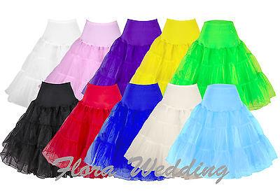 """25"""" 50s Swing Vintage Petticoat/Rock n Roll Tutu/Fancy Skirt/Wedding Underskirt"""