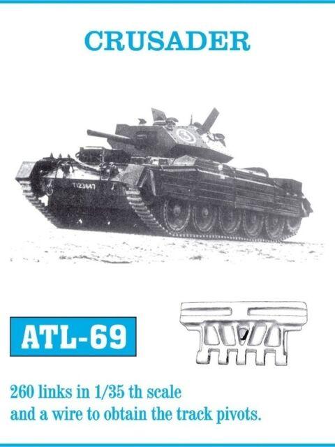 FRIULMODEL METAL TRACKS CRUSADER Scala 1/35 Cod.ATL-69