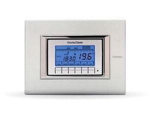Crono termostato da incasso a batterie ch141a fantini for Fantini cosmi ch115